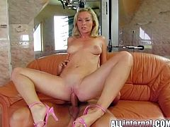 Having such cock smashing that pink pussy turns blonde into a wild slut