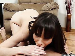 Bill Bailey gets his always hard meat stick used by Flirtatious asian doll Dana DeArmond