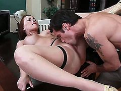 Alan Stafford is ready to make adorably sexy Katja Kassins every anal dream come to life