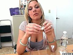 Here is one of the most popular blonde moms that you will ever see on our site. Her name is Kate Frost and she is about to make some dicks rock hard.