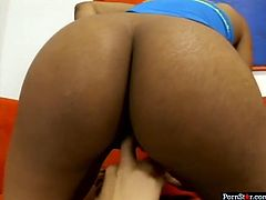 Pornstar sex clip gonna make you jizz right away. Zealous booty black lesbos are in stockings and while one bends over the couch, the other horny gal with sweet tits eats her wet juicy pussy, tickling it passionately.