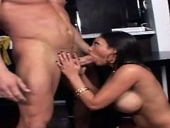 Mind taking Indian babe Priya Rai gets banged in standing pose from behind