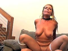Super sexy milf in hot stockings Kelly Leigh fucked passionately by her lover