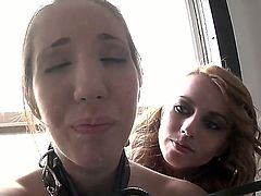 Kelly Divine and Lexi Belle are hot lesbians who love to experiment with toys