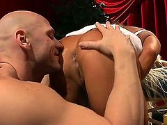 Johnny Sins is ready to make hot JR Carringtons every anal fantasy come to life