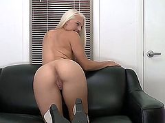 Maci Lee with big bottom is good at fucking and her hard dicked fuck buddy knows it