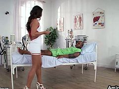 First scene features two nurse gals finger fucking each other's tight soaking cunts. In the second one horny MILF Aletta Ocean gives blowjob. I the third one cute brunette college girl gets her cunt eaten by her teacher.