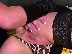 Two horny curvaceous mommies get wild in a lesbo way. Mature hoes stroke and lick each other's tight pin assholes with an extra diligence.