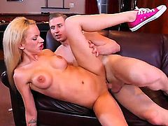 Michael Vegas cant wait any longer to stuff his worm in super sexy Kaylee Hiltons snatch