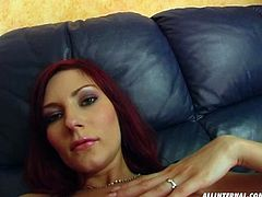 Dude, you've got a great chance to wankerbate for satisfaction along with Perfect Gonzo xxx clip. Zealous slim brunette with short hair takes off top, bra and panties. She moves to the couch, spreads legs wide and opens her wet pussy. It's high time to wank a bit to gain lots of delight in a flash.