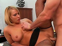 Bored with free time and wanna stare at Charles Dera and Mellanie Monroe in cool screw Then get enjoyment from the view of how pal fucks this sexual bitch in stockings.