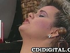 Watch the perverse and alluring vintage lesbians Trinity Loren and Christine Robbins having a hell of a party. Watch the sexy blonde and the naughty brunette munching and dildoing their hairy clams into breathtaking orgasms.