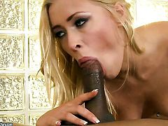 Blonde Teena Dolly satisfies her sexual needs and desires with dudes love torpedo in her mouth