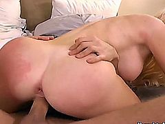 Gorgeous blond sexy getting fucked