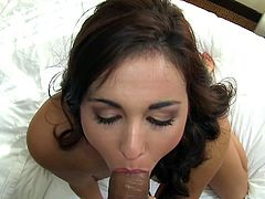 Sweetie likes to fujck and go wild during nasty homemade porn action