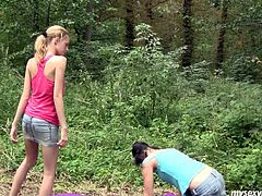 Sizzling dykes Angel are Judy are thrilled about public lesbian sex in the park. So they go naughty on a loan outdoor. Watch them pleasing one another's wet pussy performing exciting XXX lesbian porn scene.
