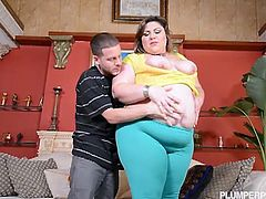 Watch the fat brunette bitch Bella Bendz giving a dude a hell of a blowjob before getting on all fours and letting him ram her ass balls deep into a massive explosion of pleasure.
