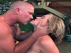 Naomi Cruise is a busty blonde belle ready to give her man a hell of a blowjob before riding his cock with her sweet pink pussy.