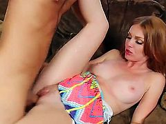 Sexy princess Maria is pussy licked and her tight wet cunt get a nice fucking from a huge cock