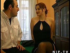 Watch how this sexy redhead slut bends over to enjoy every inch of hard cock deep in her tight asshole,She also rides his cock with her butthole, The horny guy fisted her wet pussy before loading his hot cum on her face.Enjoy!