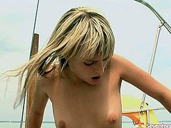 Gosh, just don't pass by this incredibly hot Seventeen Video xxx clip, cuz dozen of pleasure is guaranteed. Pretty slim blondie has small tits. But it's not the case, cuz spoiled teen filth is fond of riding a cock. Tough polishing of her wet teen pussy from behind right on the yacht will be more than perfect to reach orgasm in a flash.