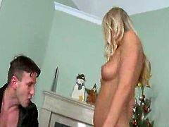 Check out these hot euro girls having some holiday dick.