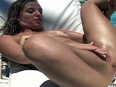 What a smoking hot angel Melina is a lust with some passion! Babe gets naked and that huge cock makes her day! Anal sex is her priority!