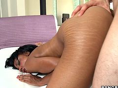 Some fucker nails a hot fucking skank with big fucking titties in this hot hardcore sex scene right here, hit play and check it out.