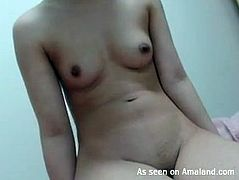 Amateur japanese receives naughty pleasure