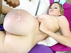 Beautiful Lizzie Tucker likes feeling large cock stretching her pussy in hardcore