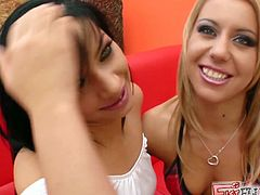 Watch the hot lesbian belles Nikky & Angel P making out. Then it's time for them to fist their wet pussies into breathtaking orgasms.