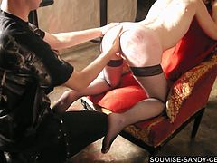 French slave sandy libertine fisting