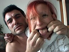 Wicked porn clip presented by 21 Sextury. Ugly girl with stunning body is going nuts in the clip. She gets her mouth stretched with fingers before mouth fucking action.