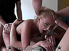 Ivana Sugar Getting Gangbang Double Penetration
