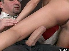 Anita Bellini is a super hot brunette with nice ass. She always loves hardcore pounding, especially if a big cock destroys her tight asshole!