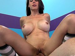 Busty Mckenzie Lee feels splendid only in rough sessions of hardcore sex