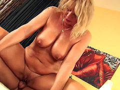A horny fucking bitch gets fucking fucked hard in this kinky scene with fisting and shit, check it out right here! It's awesome!