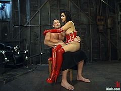 Mark Davis destroys Mika Tan's Asian coochie in stunning BDSM vid