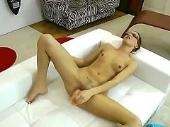 Oh, what a perverted man Rocco Siffredi is! Today he has dirty fun with naughty bitch Demetris. She gives fellatio and rimming to him, licks his feet and only then gets banged.