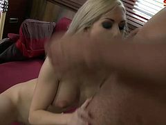 ., b AwThis horny blonde babe with nice big tits and bubble butt loves hardcore sex and even anal.Enjoy this hot blonde babe sucking and showing her deep throating skills and getting fucked hard in her all holes.