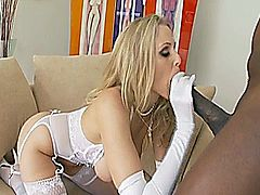 Julia Ann in Mandingo Hide Your Wives - Scene 4 // Story: Julia's husband says it's ok to cheat...as long as it's with Mandingo!