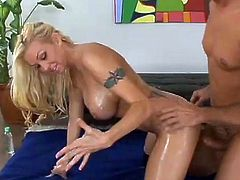 Chloe Dior likes to shake her big boobs while having her pussy nailed right