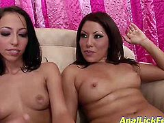 Be ready for exciting lesbian sex video featuring two sex insane lesbians. They are topless and are eager for sex pleasure. One start to kiss another one and fondle her body.