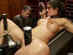 They are so addicted to bondage and toying that they don't want to even imagine what it is to have a regular sex. So this BDSM group sex makes them feel fucking hot!