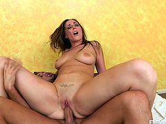 Nothing pleases her more than hardcore sex deep in her wet and tight pussy