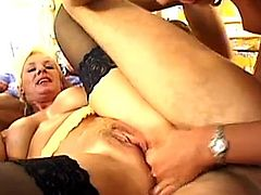 Alexandra Ross - Mom and daughter gangbanged 1