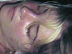 Passed Out Cumshot Facial 1