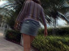 Frisky amateur bitch from street takes off her short jeans skirt and plays with her tits on a cam. Enjoy street amateur hoochie right now. She can turn all your dirty dreams into reality.