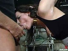 Torturing and Fucking Dana Dearmond in Bondage Video