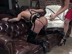 Lesbian Lovers Pushing the Limits with Torture and Bondage BDSM Fun